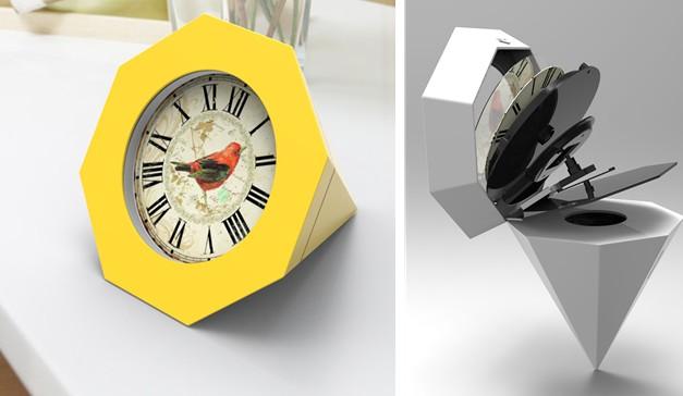 第二届中国(恒丽·蓝光杯)钟表设计大赛入围作品公告